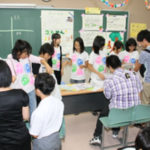 教室での展示発表